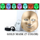 LED Mask Photon Therapy 7Colors Lights Treatment Facial Beauty Skin Rejuvenation[526]