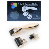 3 in 1 Microneedle Derma Roller Meso Roller for Acne Scar Freckle Set[210]
