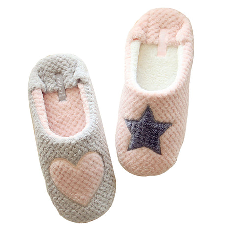 Beauty Tool Women's Warm Soft Indoor Cotton Slippers  [634]