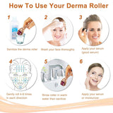 Promotions Derma Roller 540 Needles Micro-Needles (2 Pack - 0.5mm / 1.0mm) [097]