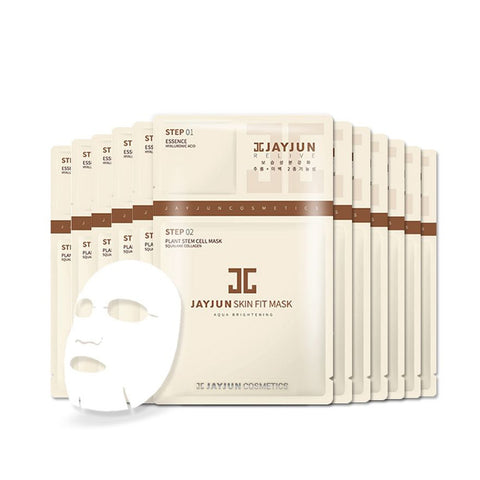 [ Jayjun ] Facial Mask 3 Steps Skin Fit Mask Korean Cosmetic 10pcs/Pack  [763]