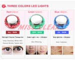 Promotions 3 In 1 charging Photon LED Light Therapy Skin Lifting Facial Ultrasonic Beauty Device [836N]