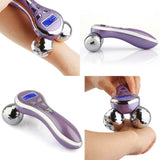Promotions 4D Y-shape Microcurrent Ball Roller Face Lifting Body Slimming Vibration Beauty Device [861]