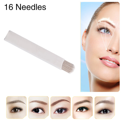 Eyebrow Tattoo Pencil Tips For Eyebrow Pen Arc Needles cartridges 50pcs/box [495]