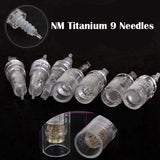 10 Pcs 9 12Pin Titanium Needle Cartridges For Derma Pen Dr Pen M5 M7 N2 [105]