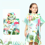 New Beach swimming cloak bathrobe children's quick-drying hooded cartoon beach towel [19016]