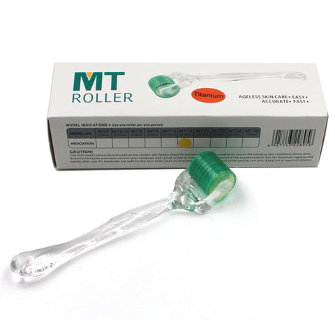 MT Titanium Derma Roller Micro needle Therapy For Anti-Wrinkle Acne Scar Dark Circle 0.2MM~3.0mm[501]