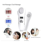 Cool & Hot Hammer Facial Skin Rejuvenation Spa Firming Sonic Vibration Beauty Device [683]