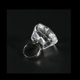 Ink Pigment Holder Adjustable Crystal Cup Ring Tattoo [728]
