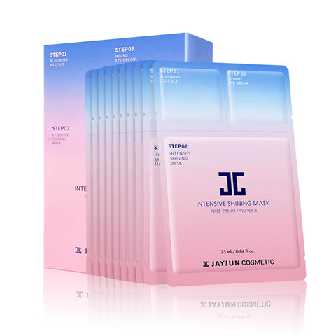 [ Jayjun ] Facial Mask 3 Steps Baby Pure Shining Mask  10pcs/Pack [765]