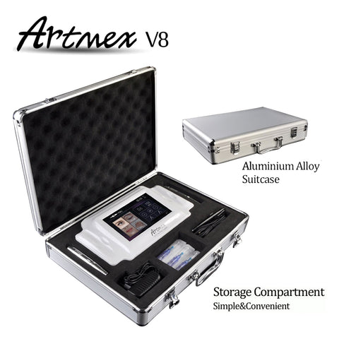 Artmex V8 Digital Permanent Makeup Tattoo Machine Rotary Pen Derma Pen [782]