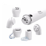 5 in 1 Rechargeable Epilator Cleansing Brush Callus Shaver Removing Beauty Device [794]