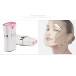 Portable  LED Anti Aging EMS Massage Face Eye Lifting Skin Rejuvenation Beauty Device[835]