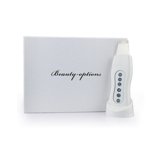 Ultrasonic Ultrasound Vibration Skin Facial Lifting Cleaning Scrubber Beauty Device [845]
