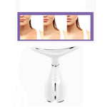 Rechargeable LED Vibration Neck Wrinkle Reduce Double Chin Remove Beauty Device [865]