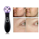 Promotions 4 In 1 EMS Facial Skin Whitening Led RF Equipment Anti Aging Beauty Device [886]