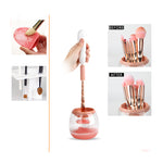 Beauty Tool Cosmetic Makeup Brush Cleaner And Dryer Tool [897]