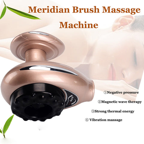Promotions Beauty Device Scraping Instrument Magnetic Wave Therapy Meridian Brush[911]