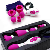 5 In 1 Vibrator Mouth Blowing Sucking Licking Shaking Massager Sex Adult Toys[988]