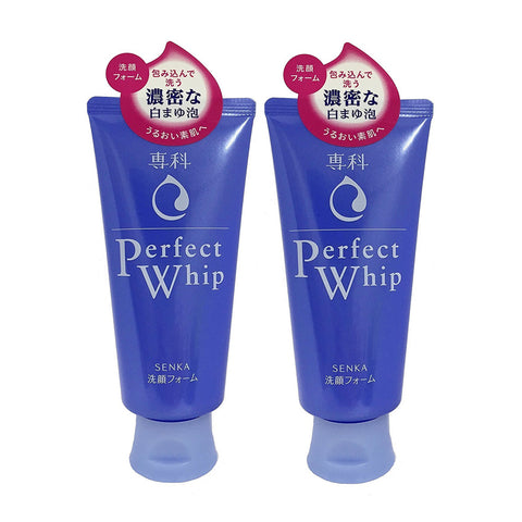 SHISEIDO K-beauty SENKA Perfect Whip Face Wash Cleansing Foam 2pcs /pack [996]