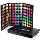 Promotions[Popfeel] 120 Colors EyeshadowPalette Makeup Kit Set +brush Make Up K-Beauty [MZ003]