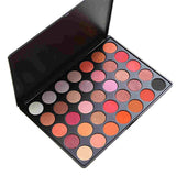 Promotions [SEPROFE]  35 Color Eyeshadow Makeup Palette GLAM High Pigmented 35F K-Beauty [MZ004]