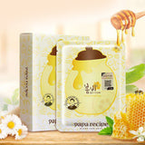 [ Papa Recipe ] Bombee Honey Mask Pack, 1 Pack/10 Sheets, 0.88 Ounce Facial Mask [MZ018]