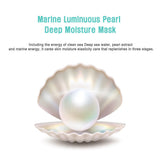 [ JM ] Solution Marine Luminous Pearl Deep Moisture Mask 1 Pac/10 Sheets Facial Mask [MZ019]