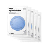 [ Dr.jart ]   Vital Hydra Solution Deep Hydration Sheet Facial Mask 5 SHEETS [MZ033]