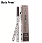 [MUSIC FLOWER] Eyebrow Fork Waterproof Pencil Beauty Tools [MZ051]