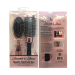 CALA Smooth & Shine Hairbrush DUO  Beauty Tool [MZ065]