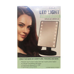 Sensor Touch Screen 16 LED Vanity 180° Makeup Mirror Light Potable Tabletop Beauty Tool [MZ066]