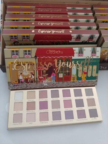 [Beauty Creations]21 Colors Eyeshadow Latte Yourself Makeup Palette K-Beauty [MZ074]