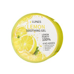 [LUNES] LEMON Soothing Gel Purity 100% Moisture 300 ml /10.58 oz K-BEAUTY [MZ084]