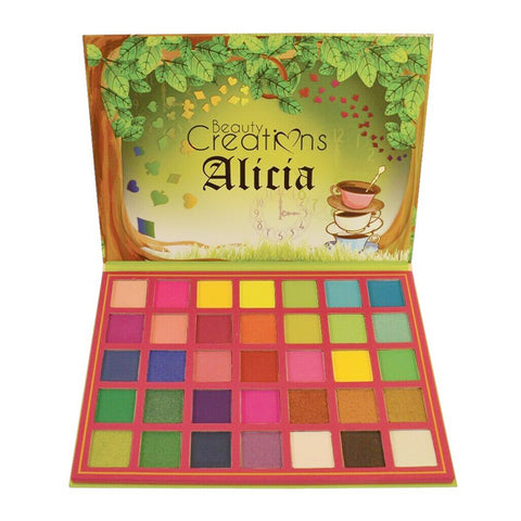 Beauty Creations ALICIA Eyeshadow Palette K-BEAUTY [MZ089]