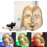 LED Mask Potodynamic 3 olors Light Skin Care Rejuvenation Gold [469]