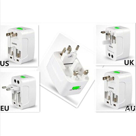 Beauty Tool EU /AU/ UK /US To Universal World Travel AC Power Plug Convertor Adapter Socket[503]