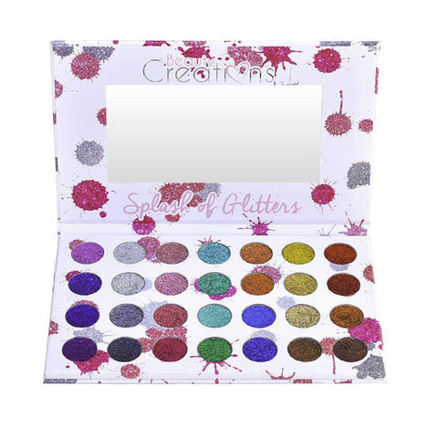 [BEAUTY CREATIONS]  Splash of Glitters Palette K-Beauty  [MZ063]