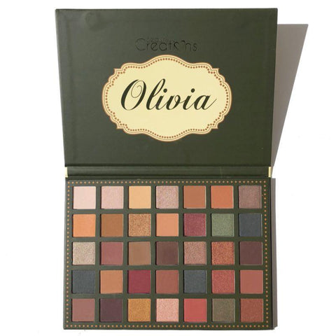 [BEAUTY CREATIONS]  Olivia 35 Color Palette K-Beauty [MZ062]