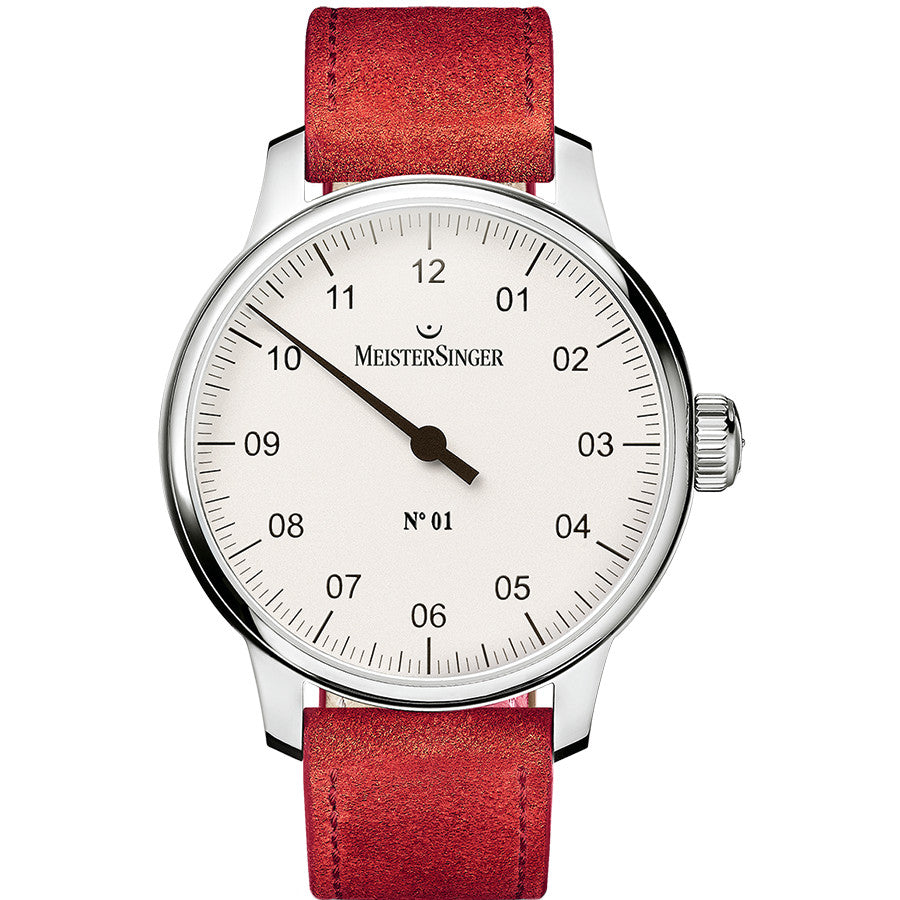 Meistersinger No.01 DM301 Silver 40mm