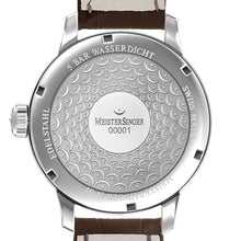 Meistersinger No.01 AM3301 Silver 43mm
