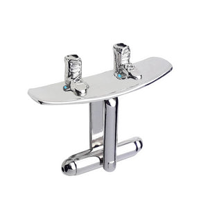 Sterling Silver Wakeboard Cufflinks