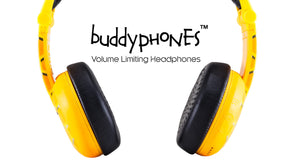 buddyphones, volume limited headphones kids