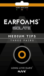 Replacement ISOLATE® Ear Foams