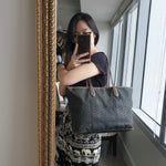 Load image into Gallery viewer, Moynat Monogrammed Tote