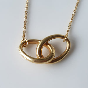 Tiffany & Co Elsa Peretti Double Loop Necklace