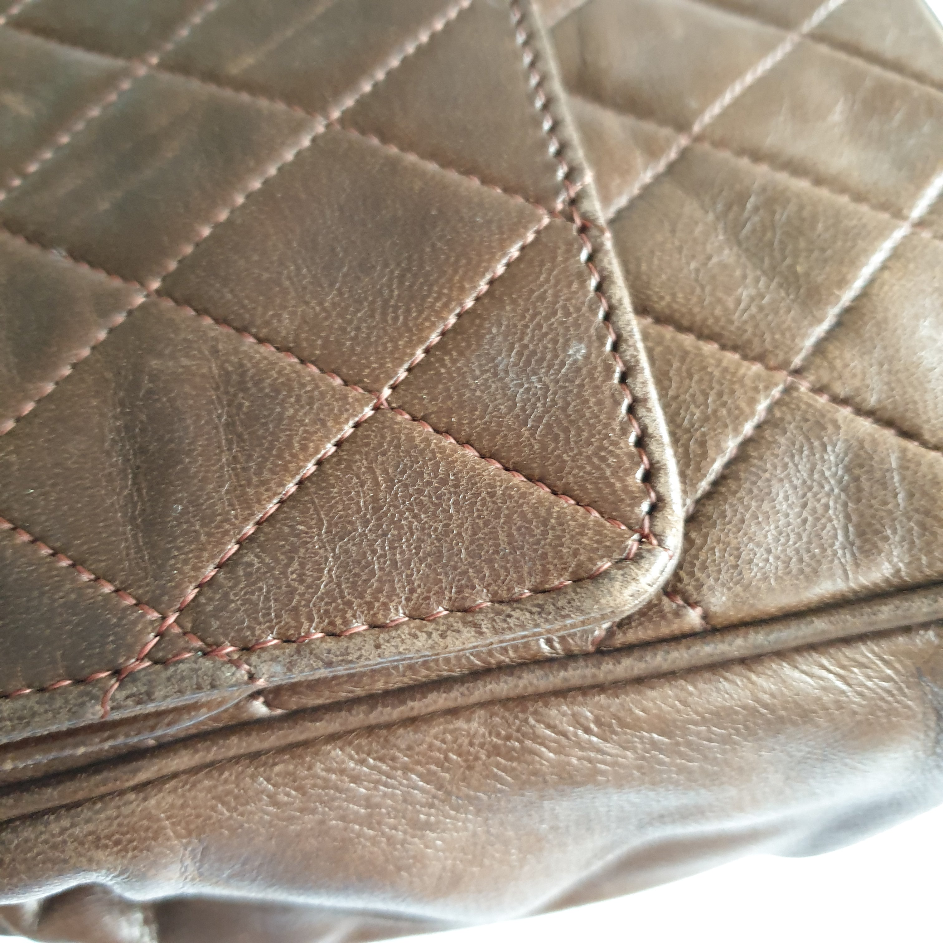 Chanel Brown Flap (0 series)