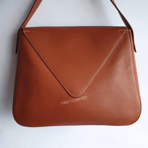 Hermès Christine, Gold Leather