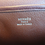 Load image into Gallery viewer, Hermès Christine, Brown Leather and Canvas