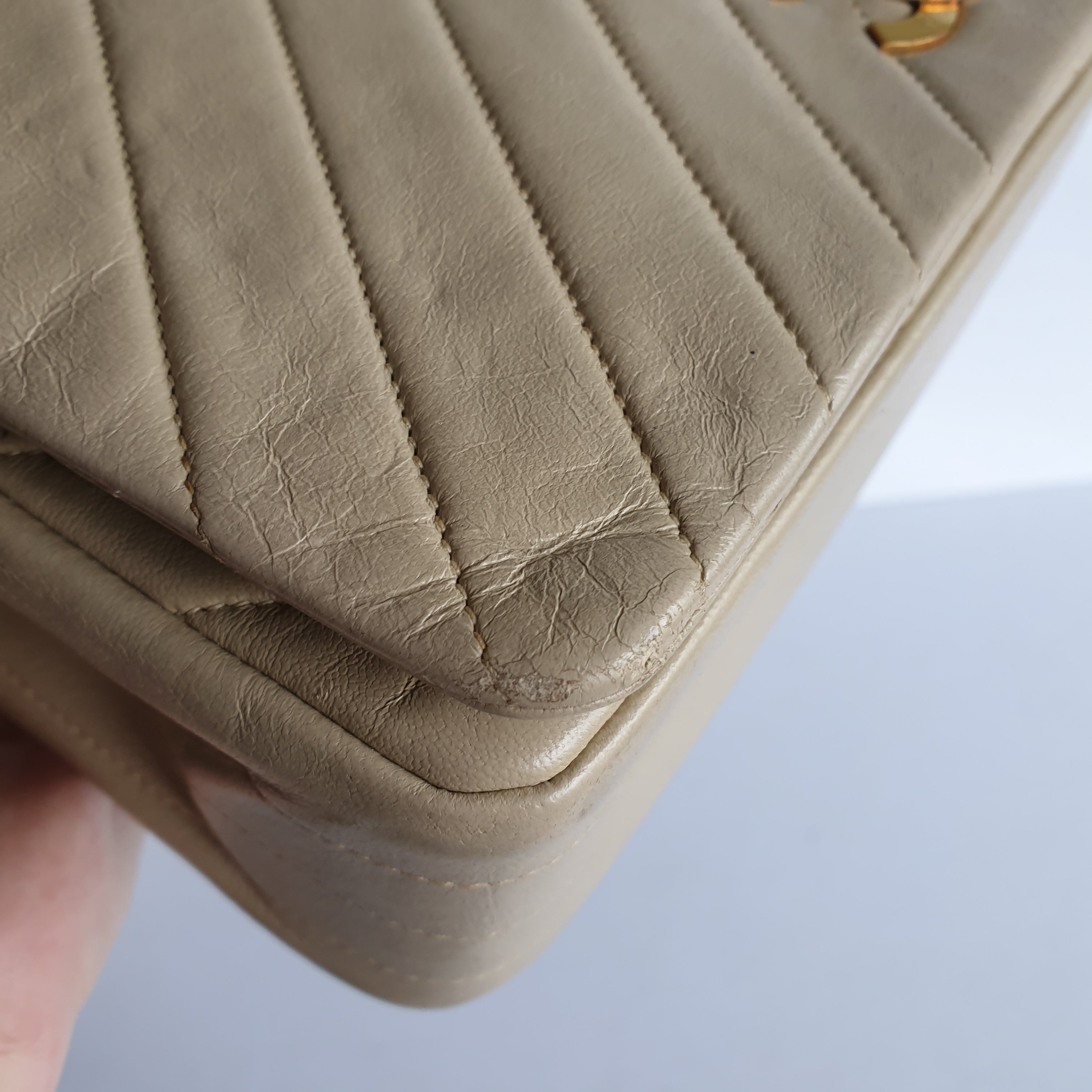 Chanel V-Stitched Flap